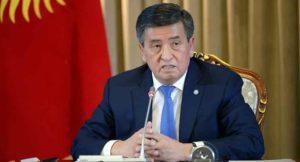 Президент КР Сооронбай Жээнбеков поздравил с днем труда